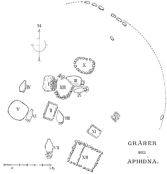 Fig. 3: The tumulus at Aphidna (Wide 1896, pl. XIII).